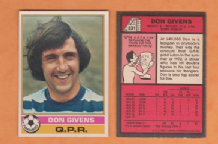 Queens Park Rangers Don Givens Eire